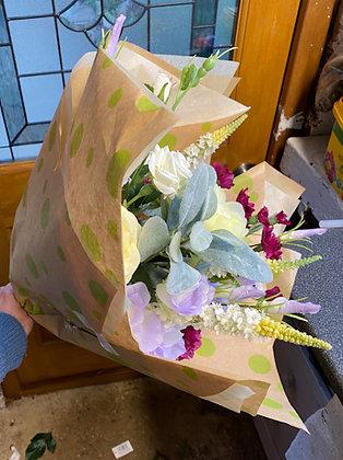 faux florist choice bouquet