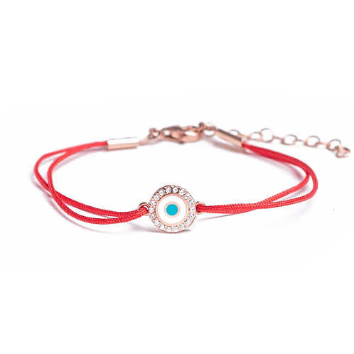 Pave Eye Red Wire