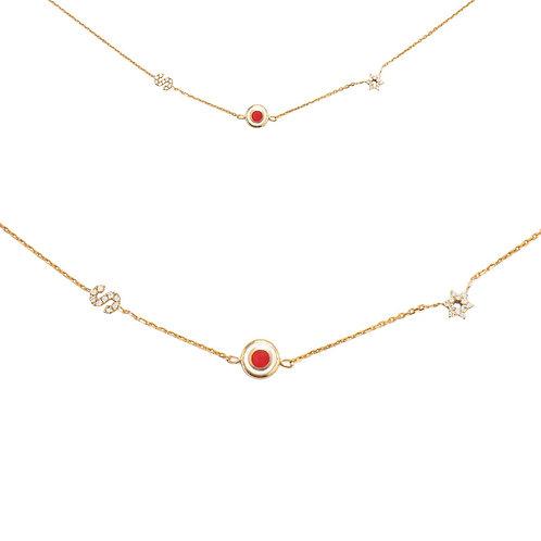 Lucky Trio necklace