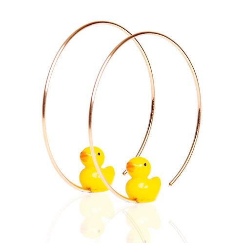 Yael's Duck Earring