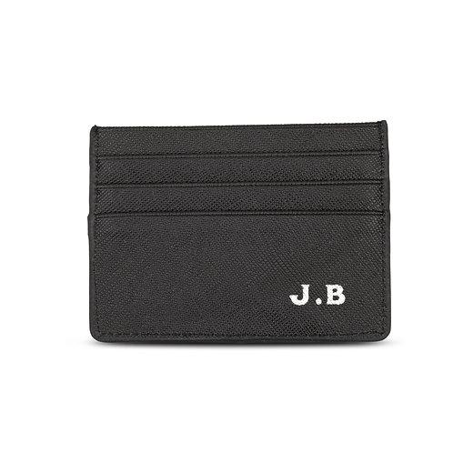 Black Credit Foiled Wallet