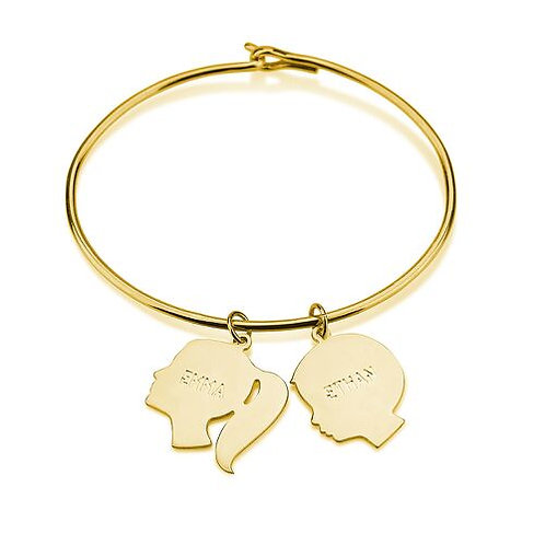 Girl & boy bangle