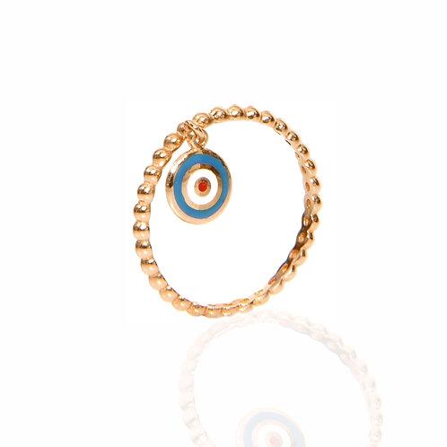 Stephanie Evil Eye Ring