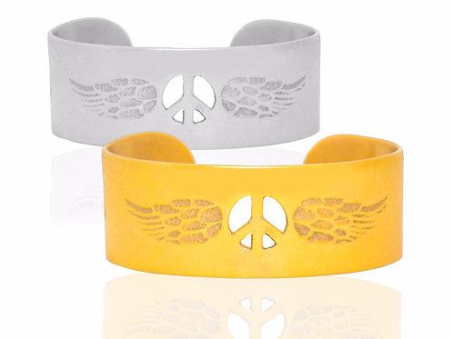 Angel peace bangle