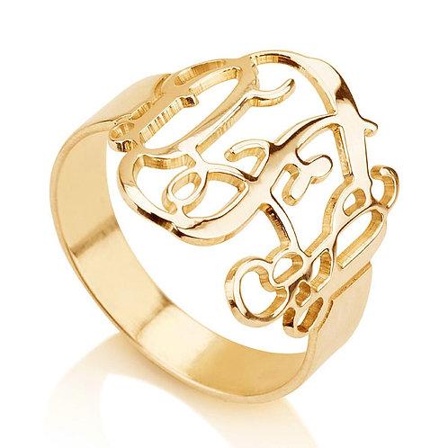 Monogram classic ring