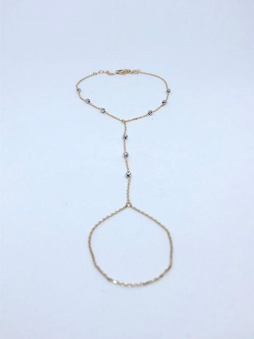 Chain Ring Bracelets 14K