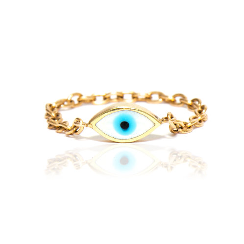 Eye chain ring