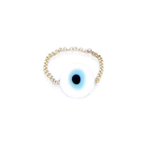Pinky Gota Eye Ring