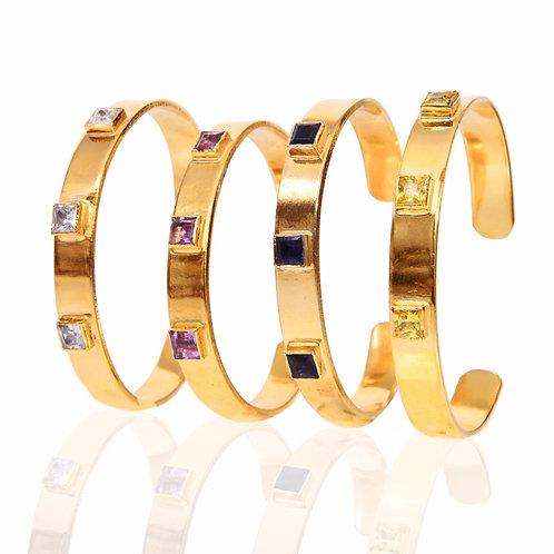 Positano Embellished Cuff Bracelet