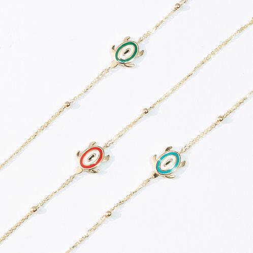 Eye Turtle Bracelet