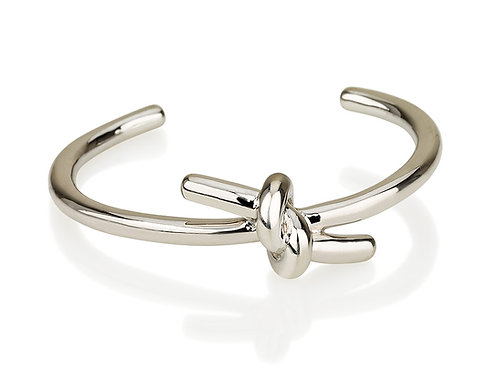 Tie bangle bracelet