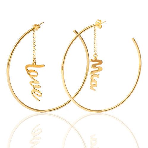 Mia Hoops Earring