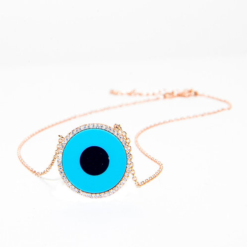 Celina Blue Eye Necklace