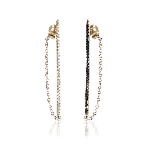 Bar Earring 14K Yellow