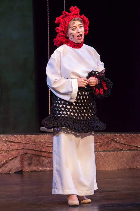 Ludmila in The Bartered Bride