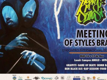 Meeting Of Styles - Brasil 2019.