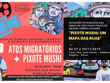 Unifesp apresenta: Atos migratórios.