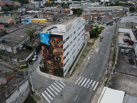 Mural Jardim de Coléus.