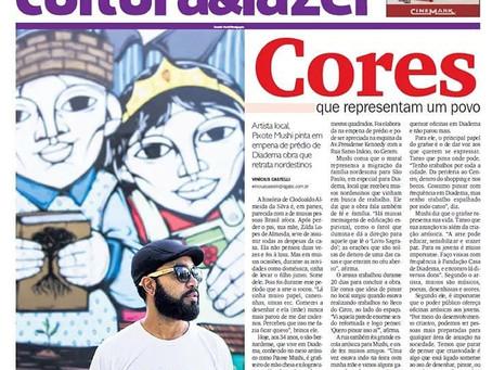 Matéria ao jornal Diário do Grande ABC.