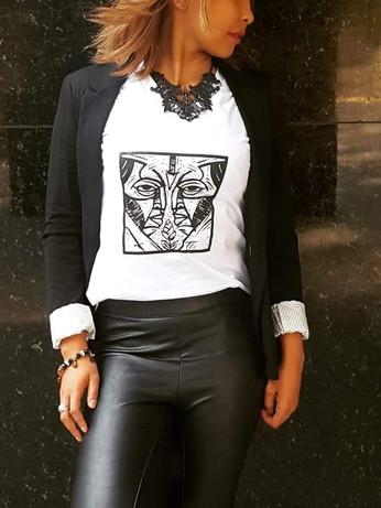 camiseta feminina Empatia