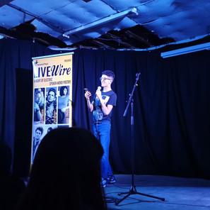 Haris Ahmed Poet | LIVEwire in Leeds (2019)