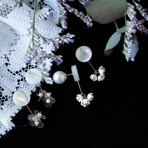 革花×Shellピアス