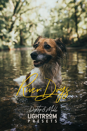 River Dogs - Lightroom Presets (Desktop + Mobile)