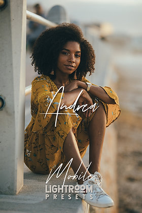 Andrea - Lightroom Mobile Presets