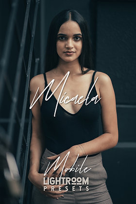 Micaela - Lightroom Mobile Presets