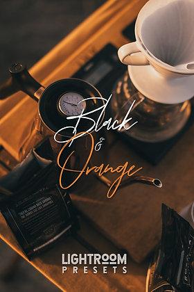 Black And Orange - Lightroom Presets
