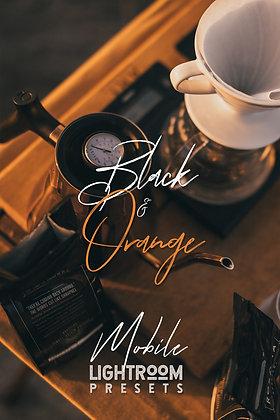Black & Orange - Lightroom Mobile Presets