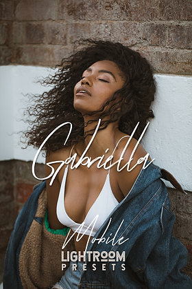 Gabriella - Lightroom Mobile Presets