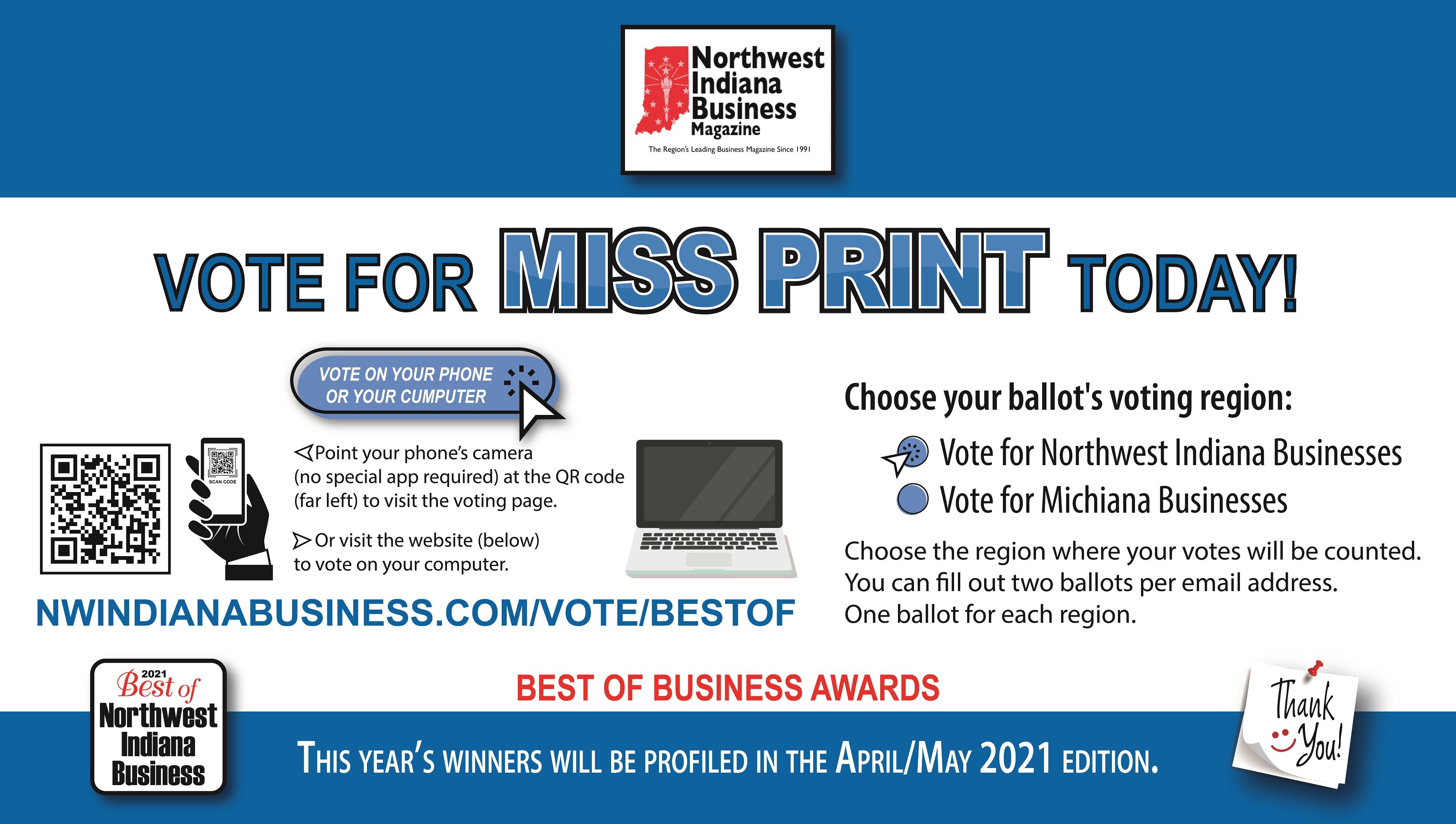 Northwest Indiana Business Vote Big