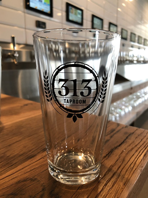 313 Pint Glass