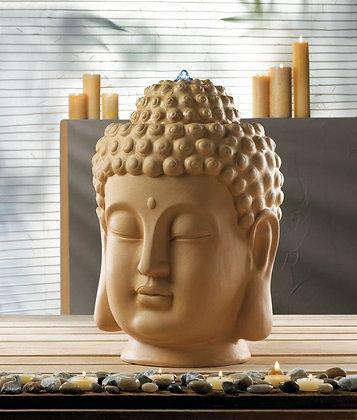 Calming Buddha Head Fountain