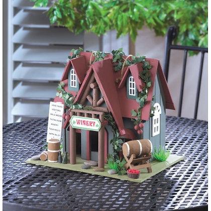 Wine Tasting Birdhouse