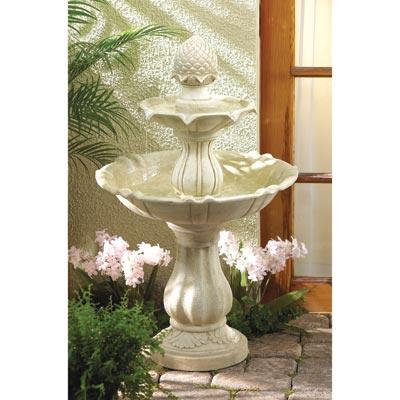 Acorn Water Fountain
