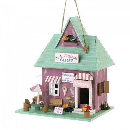 Icecream Shop Birdhouse