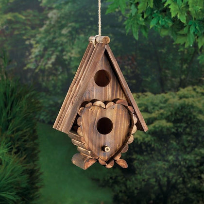 Heart Shaped Birdhouse