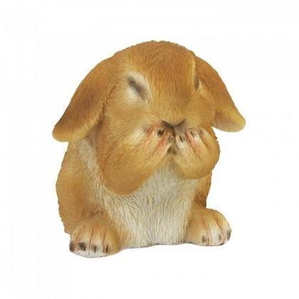 Giggling Bunny Figurine