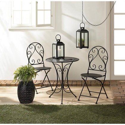 Bistro Set - Chic Iron