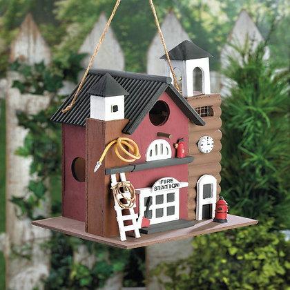 Fire Station Birdhouse 1