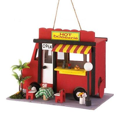 Hotdog Birdhouse
