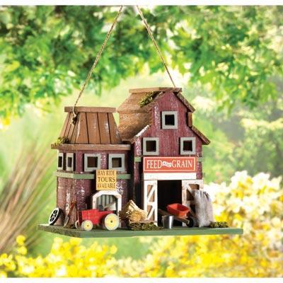 Farmstead Barnyard Birdhouse
