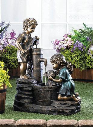 Doggy Wash Fountain