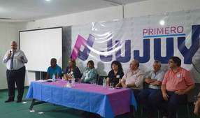 Primero Jujuy trabajará con municipios contra la violencia de género.