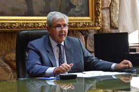 Encuentro de Haquim con el embajador argentino en EEUU