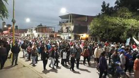 Varios apuntados en la movilización de Libertador