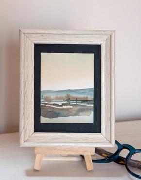 mini painting paesaggio 44