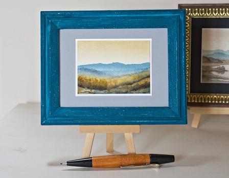 Azzurre montagne